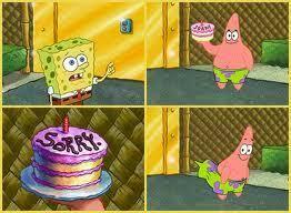 Spongebob Apology Cake Apology Cakes Know Your Meme
