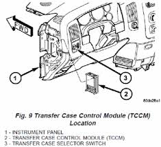 where is the transfer case control module on gmc sierra fixya clifford224 666 gif