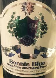 2019 Bonnie Blue from Sumner Crest Winery   VinoShipper