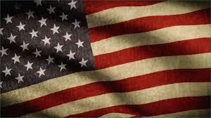Patriotic Powerpoint Background Genuine American Flag