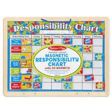 Responsibility Chart Walmart Melissa Doug Magnetic Responsibility Chart