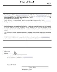 real estate bill of sale form free illinois personal property bill of sale form pdf template