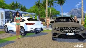 Mercedes-Benz GLC Coupe at LorySims » Sims 4 Updates
