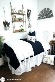 farmhouse bedding sets farmhouse bedding sets farmhouse navy white ticking stripe ties designer dorm bedding set