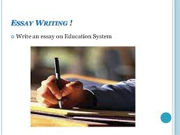 principles of effective communication write an essay on education system