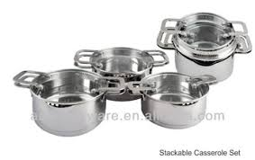 stackable cookware sets. Perfect Cookware SA12136 Stackable Cookware Cooking Pots Induction Cooker 188 304  Stainless Steel In Sets C