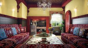 Interior Cozy Moroccan Living Room Furniture In Usa Moroccan