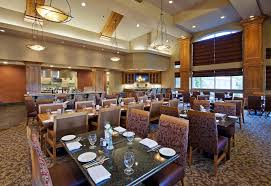 a restaurant or other place to eat at hilton garden inn bend