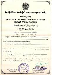 Registration Certificate - The Cytometry Society - India