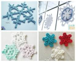 Crochet Snowflake Pattern Simple 48 Crochet Snowflake Patterns For Holiday Decorating