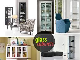 Living Room Display Cabinets Glass Cabinets For A Chic Display