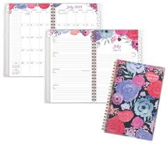 At A Glance Midnight Rose Customizable Academic Weekly Monthly Planner