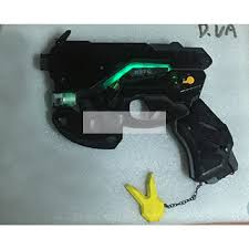 Dva Light Gun Overwatch D Va Skin Carbon Fiber Weapon Light Gun Cosplay Replica Prop