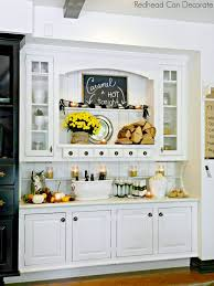 built in kitchen cabinet makeover at the picket fence with kitchen hutch ideas