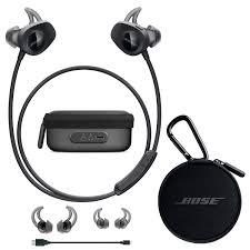 bose in ear wireless. bose soundsport wireless in-ear headphones - black \u0026 charging case bundle in ear