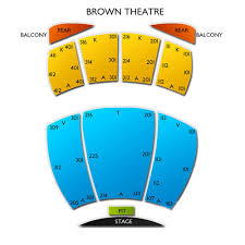 Brown Theater Seating Chart Kentucky Center Brown Theatre 2019 Seating Chart