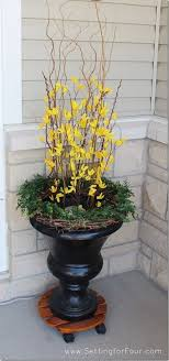 Urn Decorations For Spring 60 best Spring Urns images on Pinterest Flower pots Front 2