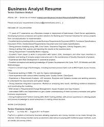 Ba Resume Sample Musiccityspiritsandcocktail Com