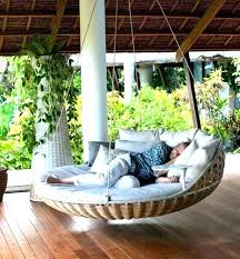 outdoor floating bed round hanging bed round porch swing bed round porch swing bed build hanging