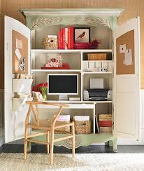 home office armoire. home office ideas conceal it in an armoire decorating files decoratingfilescom