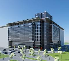 office block design. office building in block 11a belgrade design competition e