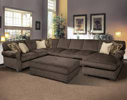 Living Room Chaise Grand Island Large 7 Seat Sectional Sofa With Right Side Chaise