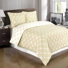 bloomingdale beige and ivory duvet cover set