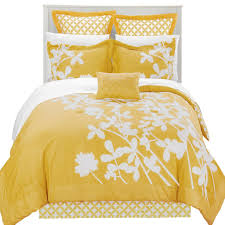 bedding sets ideas mainstays yellow damask coordinated set bed