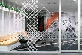 uv print on glass partition