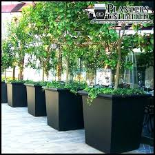 patio large patio pots and planters outdoor tapered square fiberglass planting tips on planter ideas cool
