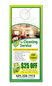 Cleaning Advertising Ideas Extraordinary Idea Carpet Cleaning Door Hangers Service Hanger