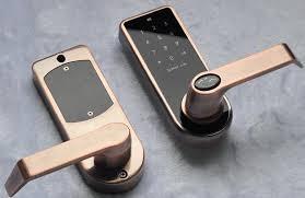 smart front door locks2017 Electrical Security Bluetooth Smart Door Lock For House Doors