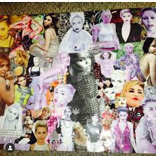 Example Of A Collage Miley Cyrus Example Collage Of What Can Be Crafted Depop