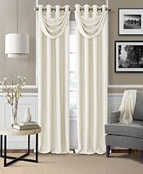 living room curtains. Elrene Brooke Faux-Silk Blackout Grommet Curtain Panel \u0026 Valance Collection Living Room Curtains