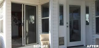 innovative patio door repair wilke window amp door replacement projects gallery residence remodel pictures