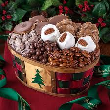 holiday cheer gift basket holiday candy gift baskets river street sweets
