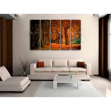 modern contemporary wall art autumn fall hd picture print on