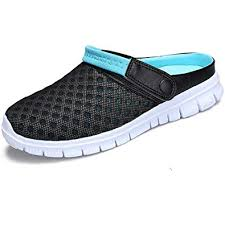 <b>JACKSHIBO</b> Mens Breathable Net Mesh <b>Sandals Slippers</b> Slip-on ...