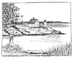 Small Picture Lighthouse Coloring Pages for Adults Island Coloring Pages