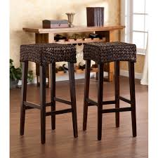 Rattan Kitchen Furniture Outdoor Bar Height Dining Set White Wicker Navtejkohlimdus