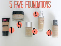 my 5 fave foundations collab video with beauty by arielle