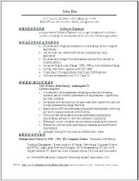 Test Engineer Resume Objective Best of Software Engineer Resume Doc Senior Software Engineer Resume Senior