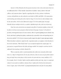 Mla 8 Sample Paper By Liberty University