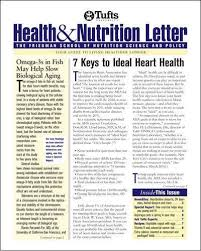 tufts university health nutrition letter
