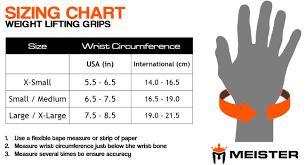 Versa Gripps Pro Size Chart Details About Meister Elite Lifting Grips W Gel Padding Weight Training Straps Versa Bar Pads
