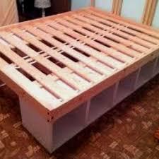 DIY Twin Storage Bed IKEA Hack With Regard To Diy Beds Prepare 5
