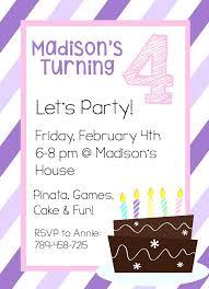 birthday invitation 21st party templates invitations free kids template b