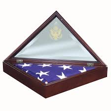 personalized flag display case. Contemporary Personalized VP Wood American Flag Display Case Combination Set Engraved Pedestal Base  Stand Cremation Urn Nameplate Free Shipping Engraving Made USA  Intended Personalized M