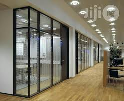 aluminum office partitions. Office Partition With Glass And Aluminium Composite Panel Aluminum Partitions B