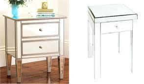 mirrored side table. Small Mirrored Side Table S Round Tables Bedside Uk O